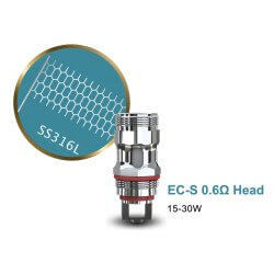 Pack de 5 résistances EC Head Melo par Eleaf