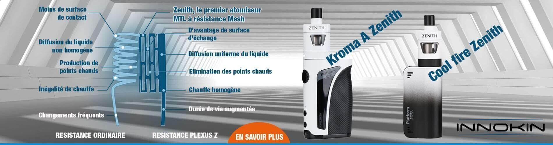 Résistance plexus Z sur kit Kroma et Kit coolfire